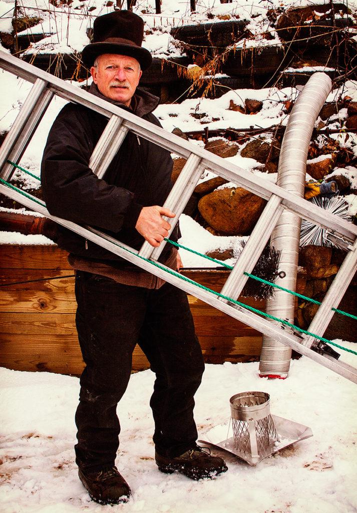 The Fiddler Hauls His Ladder